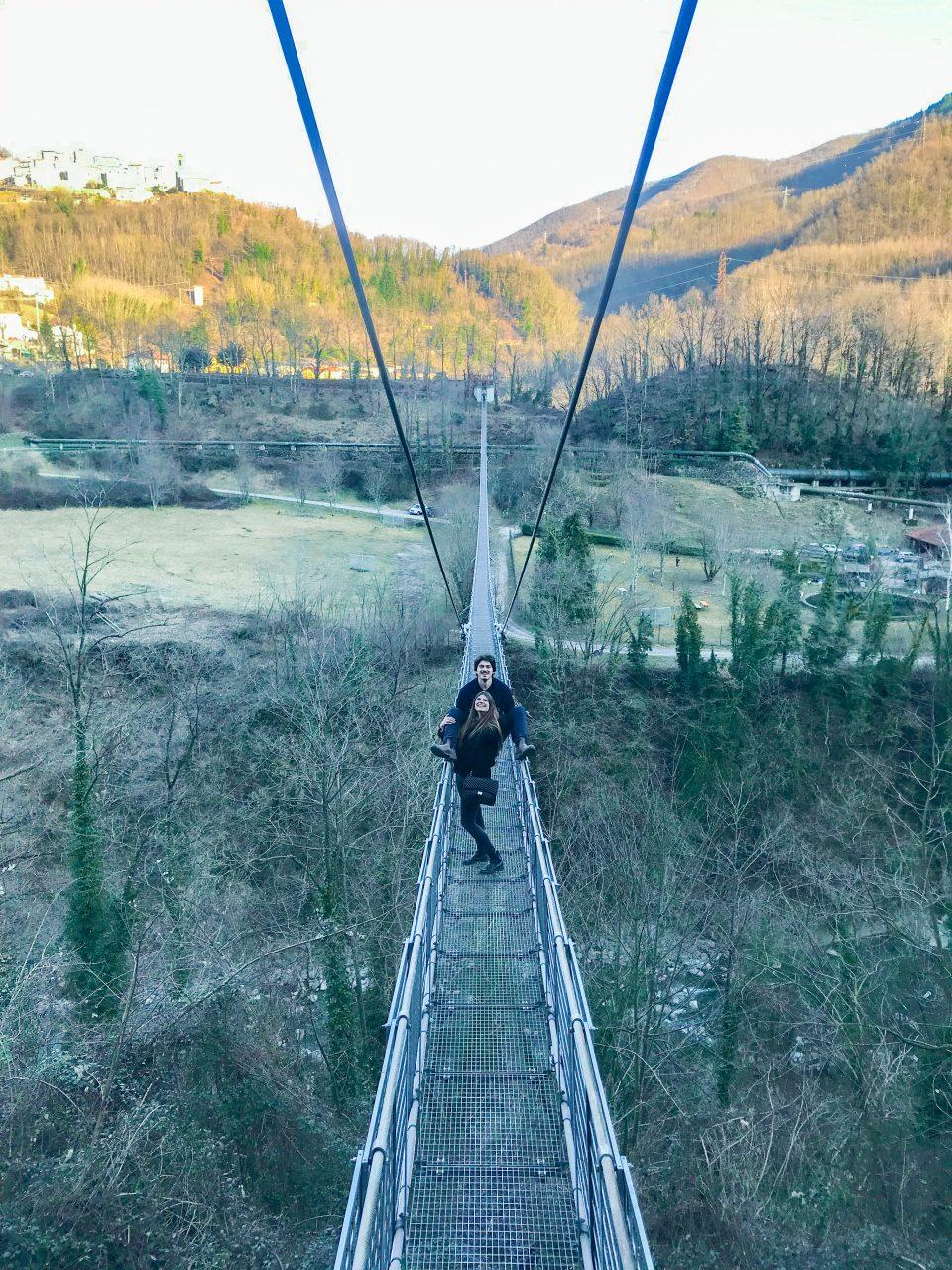 Ponte delle Ferriere: il ponte sospeso più lungo d'Italia