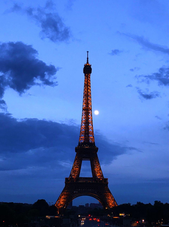 Torre Eiffel vista da Trocadero. Parigi e dintorni in 5 giorni